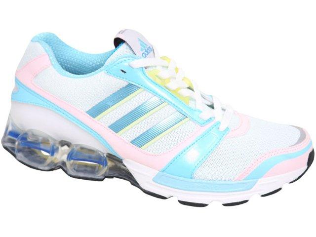 Tênis Feminino Adidas zx 8000 U43108 Branco/azul/rosa