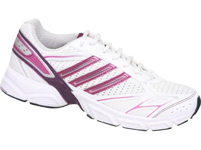 Tênis Feminino Adidas Uraha G16420 Branco/roxo