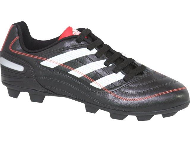 Chuteira Masculina Adidas Predito x G25728 Preto/branco