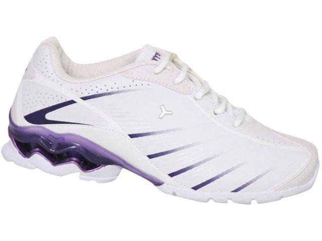 Tênis Feminino Tryon Wind Branco/violeta