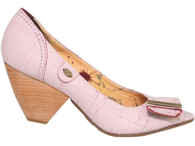 Peep Toe Feminino Mormaii 11010792 Rose