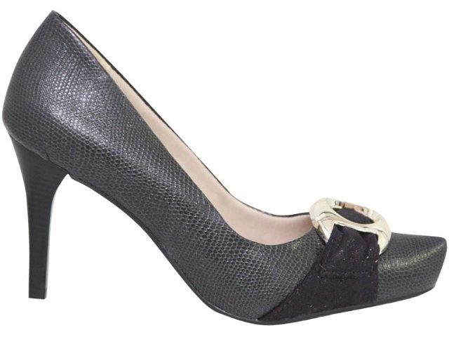 Sapato Feminino Ramarim 1021204 Preto