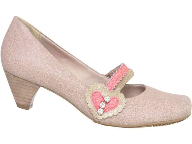 Sapato Feminino Ramarim 106206 Amendoa