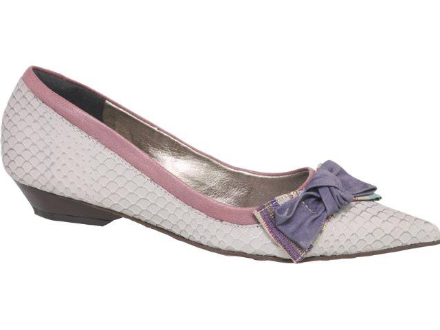 Sapato Feminino Tanara 1052 Gelo