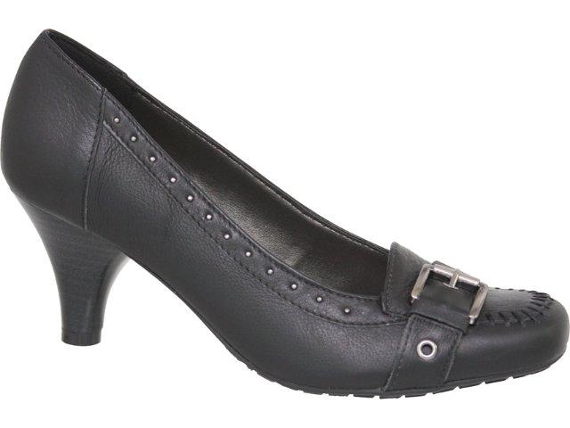 Sapato Feminino Via Marte 10-9708 Preto
