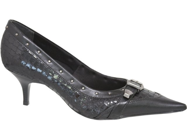 Sapato Feminino Bebêcê430462 Preto