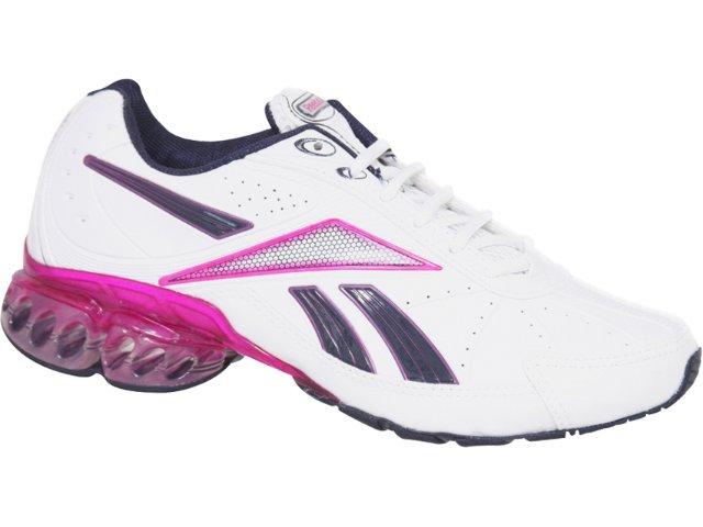 Tênis Feminino Reebok Queen Branco/pink