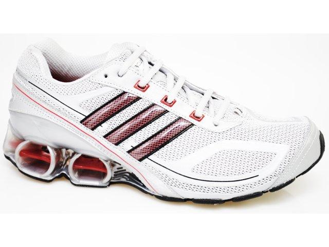 Tênis Masculino Adidas Devotion G17035 Cinza/vermelho