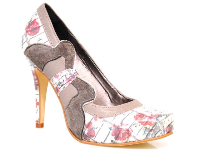 Sapato Feminino Tanara 1001 Floral