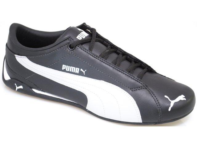 Tênis Masculino Puma 468072 Preto/branco