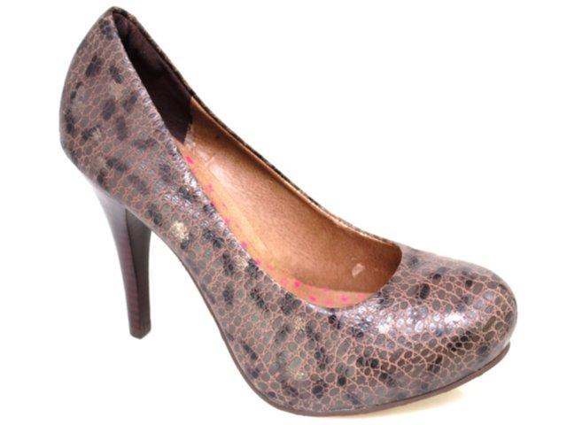 Sapato Feminino Tanara 1672 Chocolate