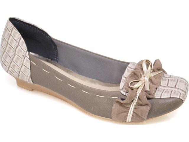 Sapato Feminino Dakota 1963 Fibra Musgo