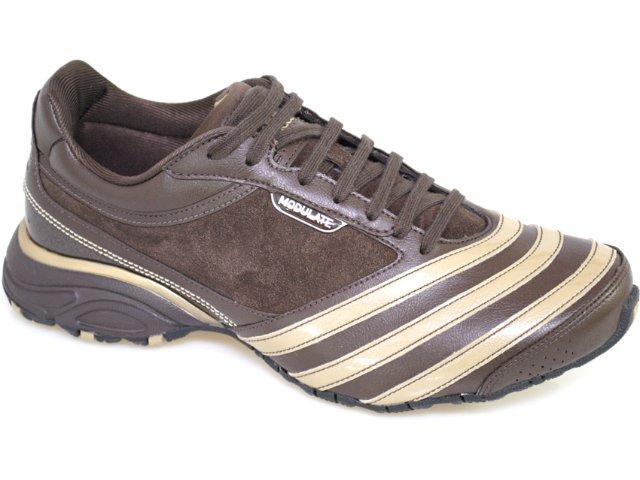Tênis Masculino Adidas Modulate Suede G29009 Café Ouro