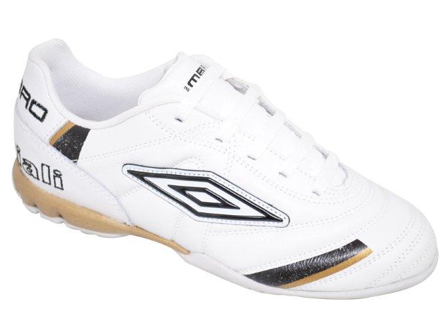 Tênis Masculino Umbro 10104219 Speciali Branco/dourado