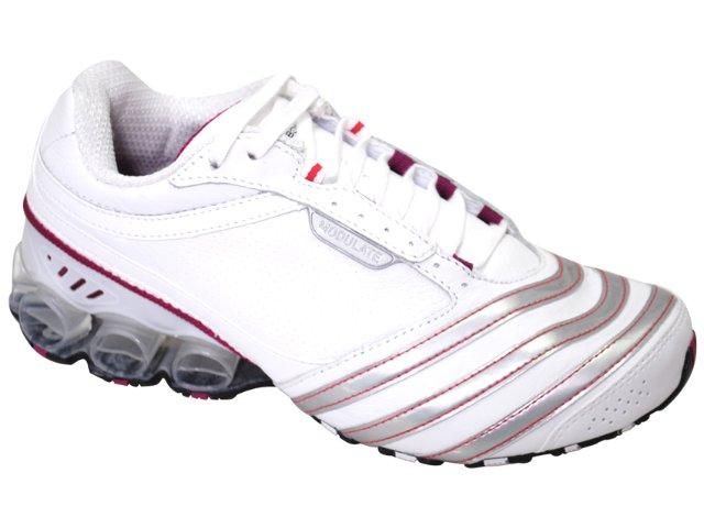 Tênis Feminino Adidas Modulate G12243 Branco/prata