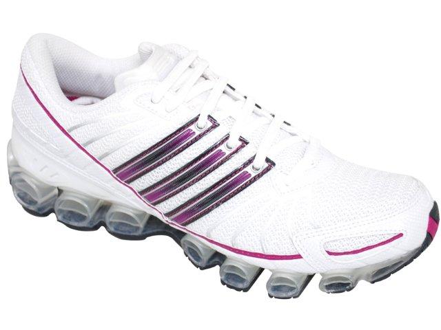 Tênis Feminino Adidas Rava mb G23803 Branco/roxo