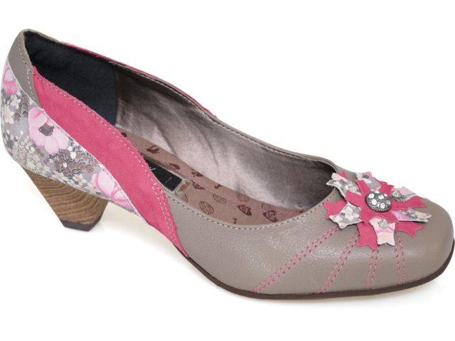 Sapato Feminino Tanara 1202 Rato