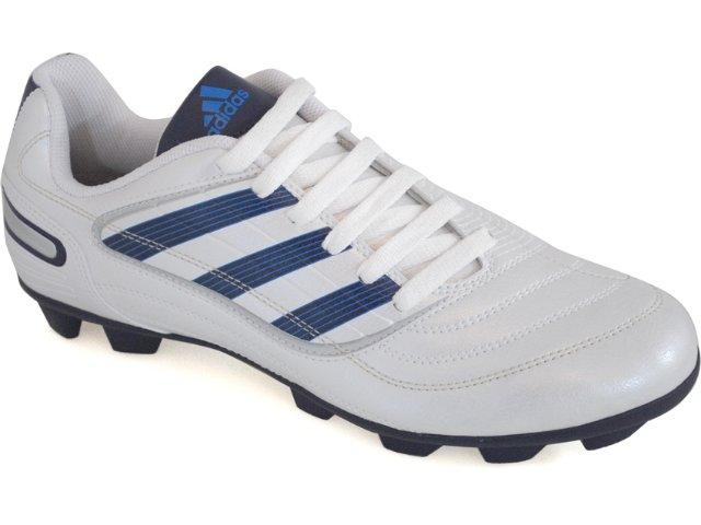 Chuteira Masculina Adidas Predito x G29822 Branco/azul