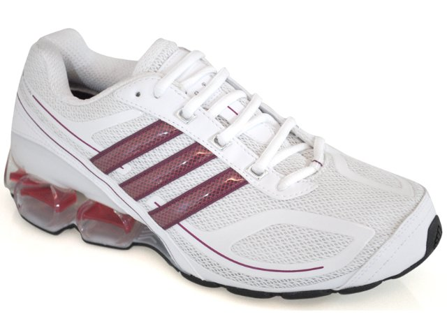 Tênis Feminino Adidas Devotion G12219 Branco/cereja