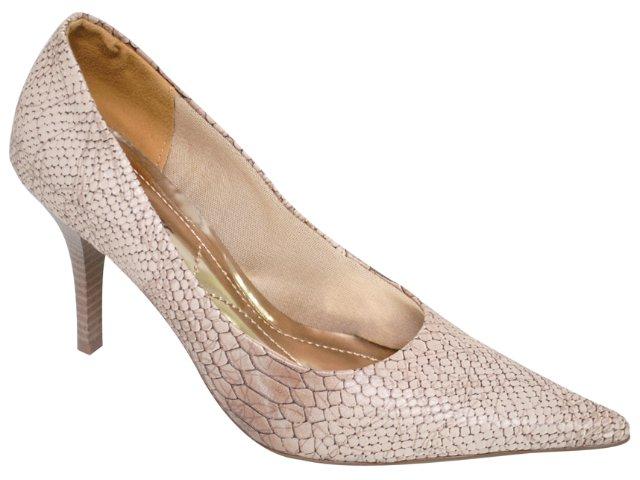 Sapato Feminino Via Marte 10-10305 Areia