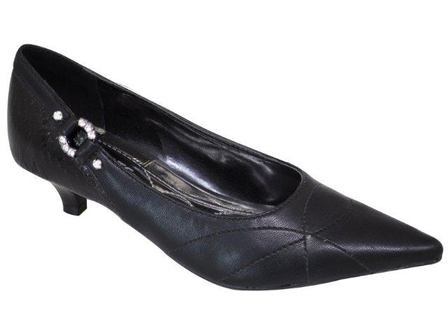 Sapato Feminino Via Marte 10-5704 Preto