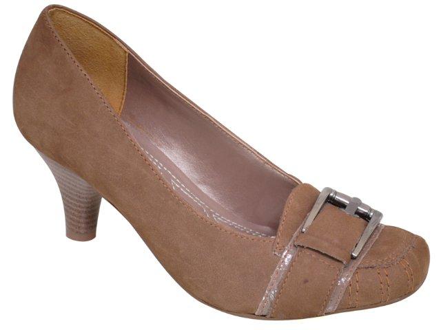 Sapato Feminino Via Marte 10-9704 Rato