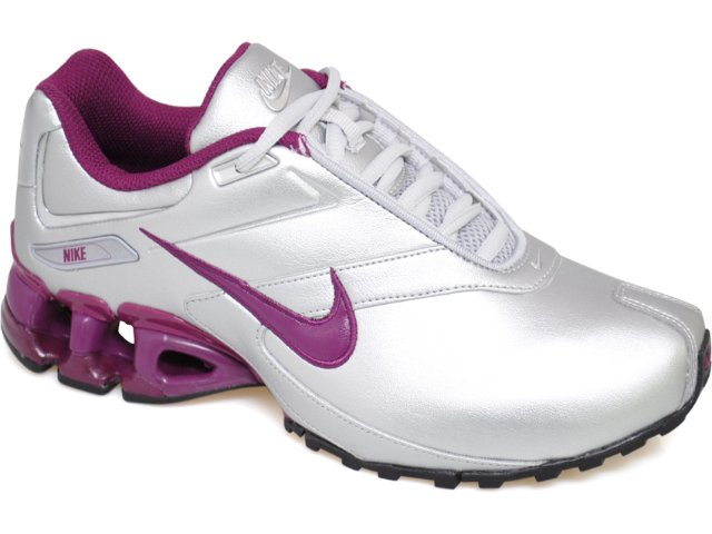 Tênis Feminino Nike Impax Emirro 386844-003 Prata/lilas