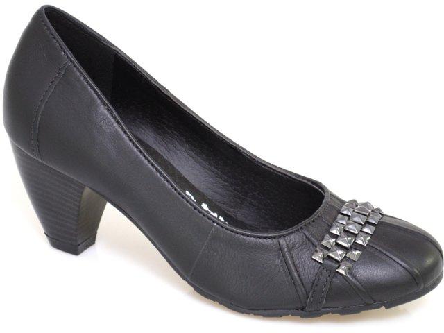 Sapato Feminino Via Marte 10-6002 Preto