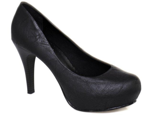 Sapato Feminino Maina Cardoso 6301 Preto