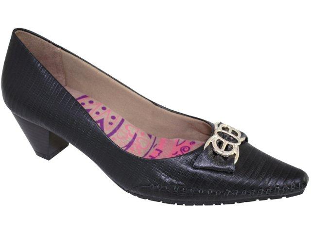 Sapato Feminino Ramarim 107102 Preto