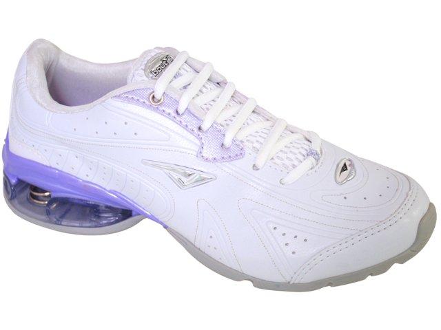 Tênis Feminino Bouts 8723 Branco/lilas