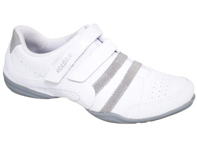Tênis Feminino Kolosh 9003 Branco/cinza