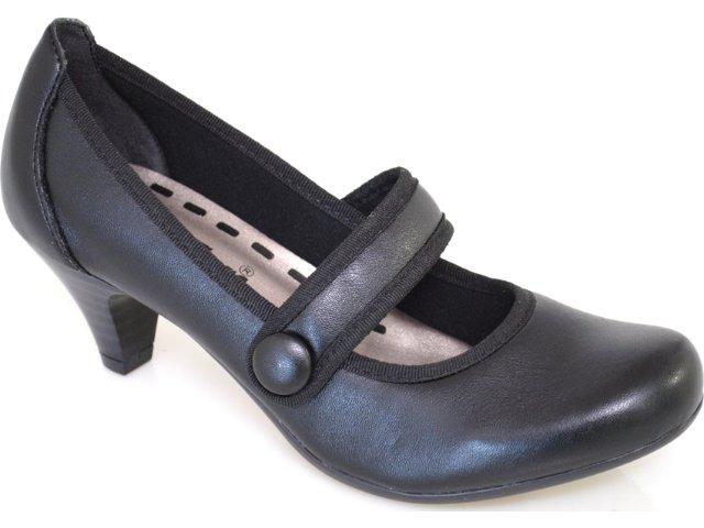 Sapato Feminino Brenners 2001 Preto