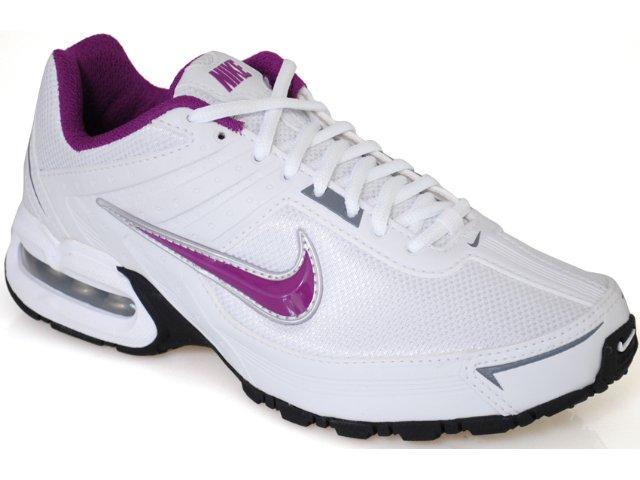 Tênis Feminino Nike Max Spear 390699-101 Branco/roxo