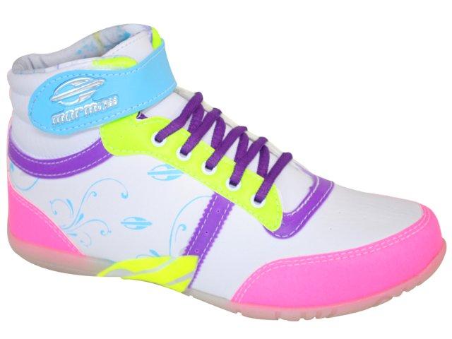 Tênis Feminino Mormaii 41010770 Branco/pink