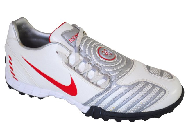 Tênis Masculino Nike 318881-161 Branco/vermelh