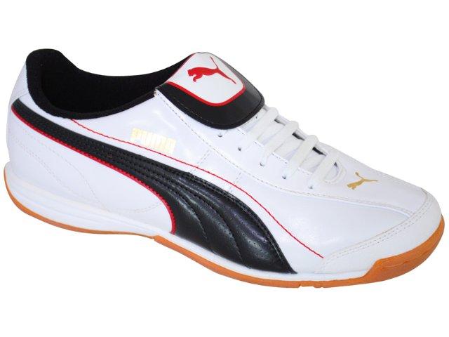 Tênis Masculino Puma 101603 Branco/preto
