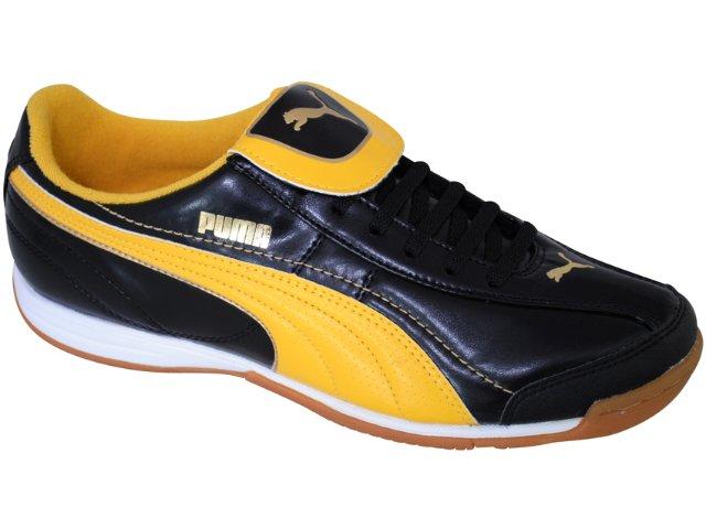 Tênis Masculino Puma 101603 Preto/amarelo