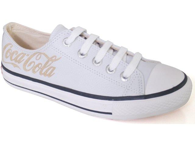 Tênis Feminino Coca-cola Shoes C0021703 Branco