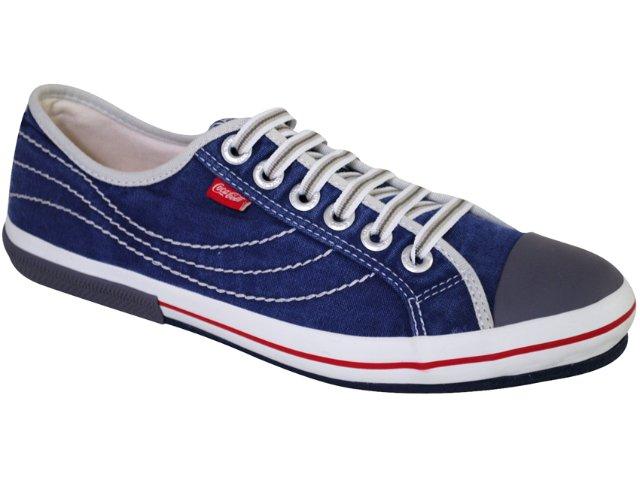 Tênis Masculino Coca-cola Shoes C0078000 Marinho