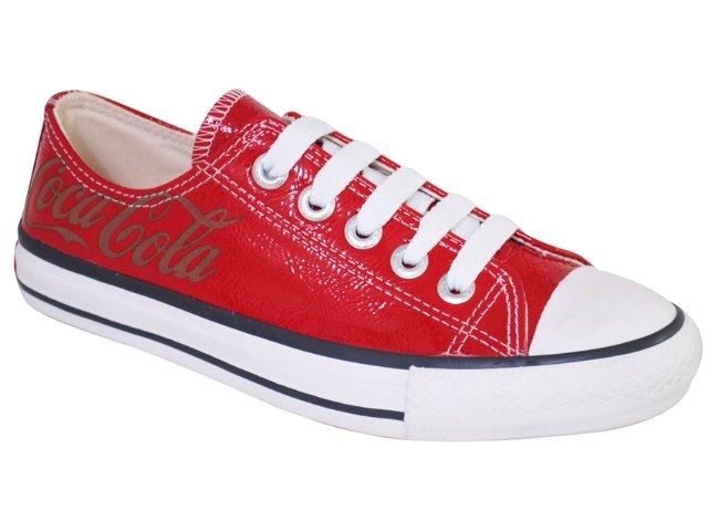 Tênis Feminino Coca-cola Shoes C0021705 Vermelho