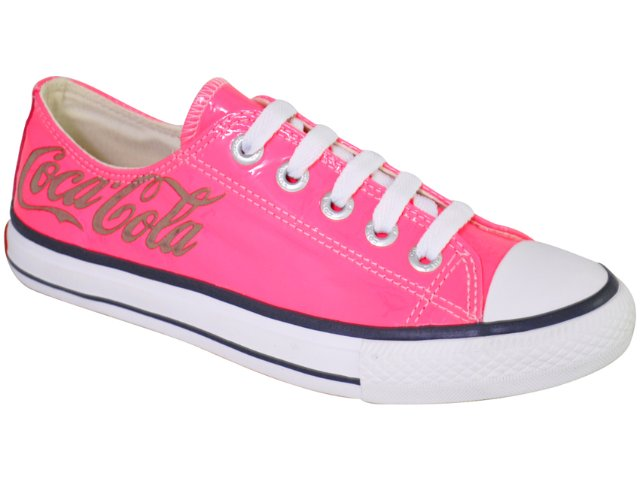 Tênis Feminino Coca-cola Shoes C0021705 Pink