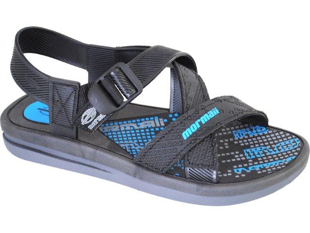 Sandália Masculina Grendene Mormaii 10624 Preto/azul