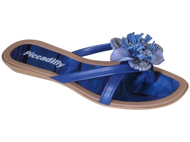 Tamanco Feminino Piccadilly Picadilly 501.034 Cobalto