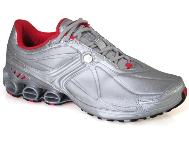 Tênis Masculino Adidas Hyperbounce G12231 Prata/cereja
