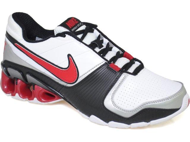 Tênis Masculino Nike Impax Atlas 386485-161 Branco/vermelho