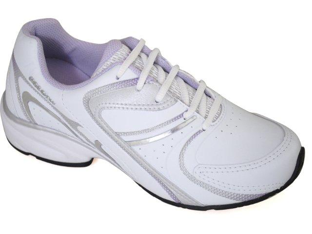 Tênis Feminino Kolosh 9562 Branco/lilas