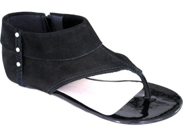 Sandal Boots Feminina Bottero 136302 Preto