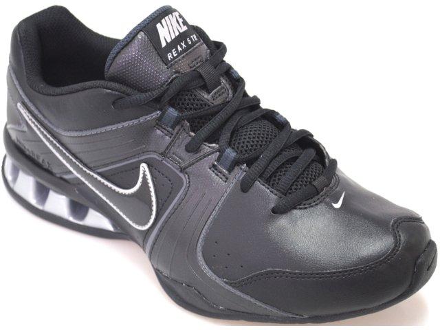 Tênis Masculino Nike Reax 415348-001 Preto/prata