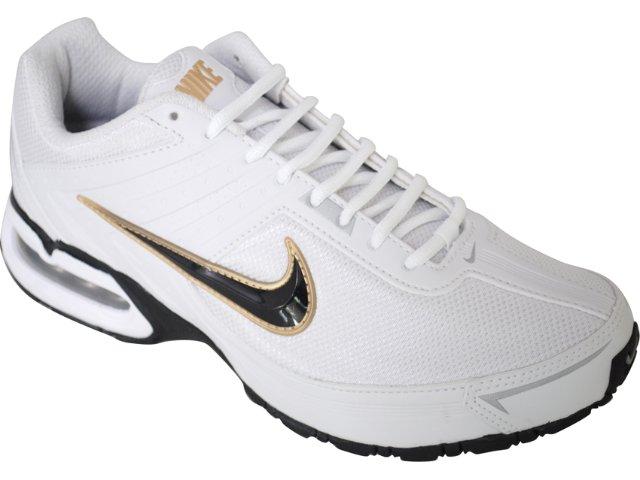 Tênis Masculino Nike Max Spear 390701-102 Branco/preto